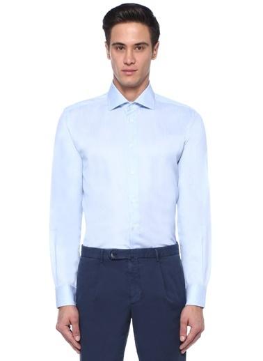 Corneliani Gömlek Mavi